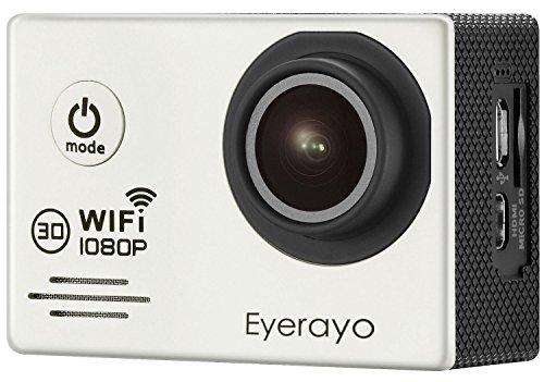 Eyerayo-20-Inch-WIFI-SJ7000-Sports-Camera-14MP-Full-hd-1080P-170-Degree-Wide-Angle-Lens-30m-Waterproof-Diving-Hd-Camcorder-HDMI-Output-H264-Car-DVR-Recorder-Wearable-Action-Hd-Digital-CameraSilver