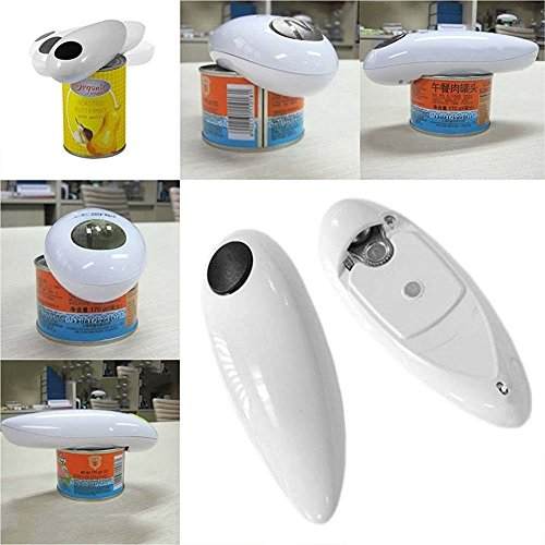 One Touch Automatic Electric Tin Can Opener Bottle Tin Can Open Tool Kitchen US (Kenmore Can Opener compare prices)