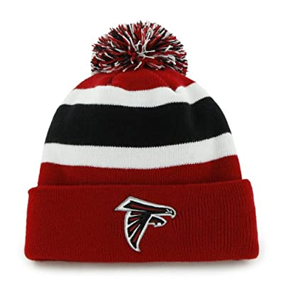 NFL Atlanta Falcons Men's Breakaway Knit Cap, One Size, Red