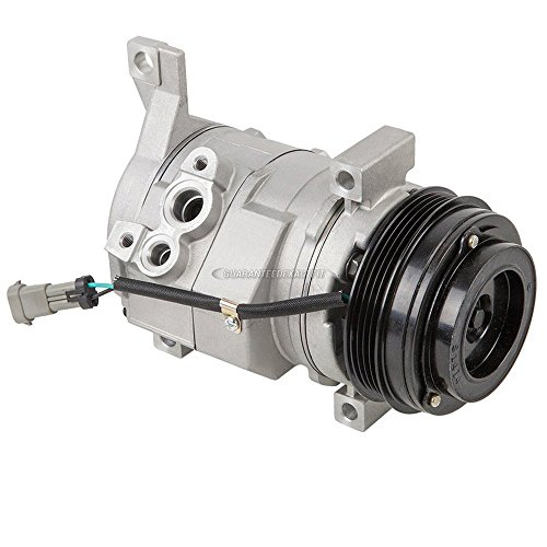 Brand New Ac Compressor & A/C Clutch For Chevy Gmc Cadillac And Hummer - BuyAutoParts 60-01588NA New (2001 Chevy Suburban Ac Compressor compare prices)