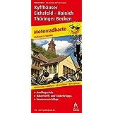 Motorradkarte Kyffhäuser - Eichsfeld - Hainich - Thüringer Becken: 1:150000. Mit Tourenvorschlägen, Ausflugszielen, Einkehr- & Freizeittipps, reissfest, wetterfest, GPS-genau