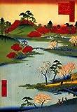 Utagawa Hiroshige Open Garden at Fukagawa Art Print Poster - 13x19