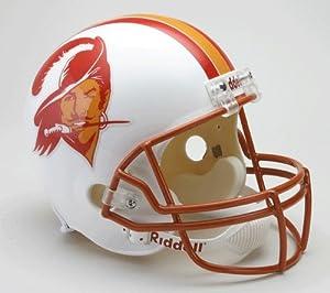 Tampa Bay Buccaneers 1976-96 Throwback Riddell Deluxe Replica Helmet by Caseys