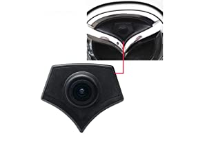 Vehicle-Specific car Front View Logo Embedded Backup Camera Parking System with CCD Waterproof IP67 (Middle) for Mazda GH CX5 CX7 CX9 Mazda 2 3 5 6 8