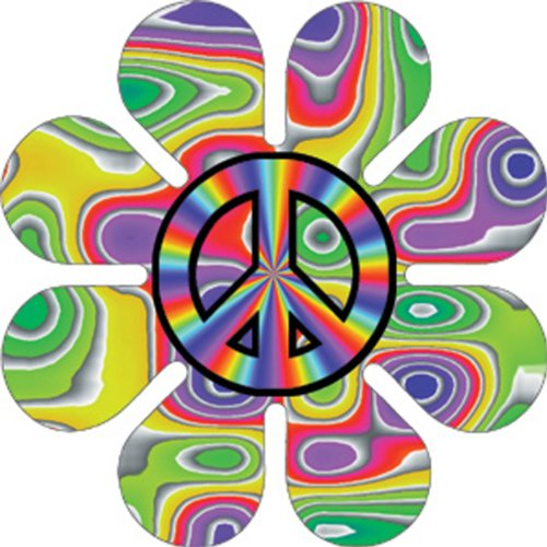 Licenses Products Peace Daisy Sticker