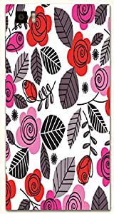 Amazing multicolor printed protective REBEL mobile back cover for Xiaomi Mi 3 D.No.N-T-4443-XM3