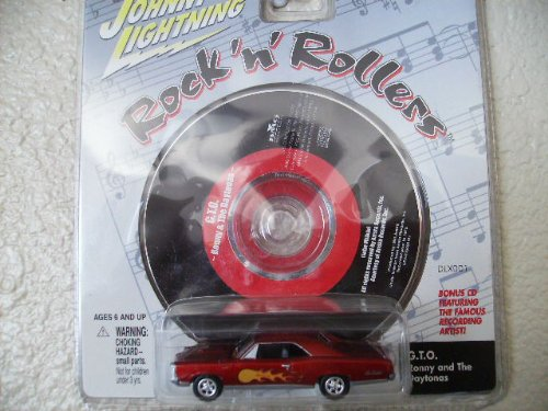 Johnny Lightning Rock N Roller 67 G.T.O. with Music Cd G.T.O. By Ronny and the Daytonas