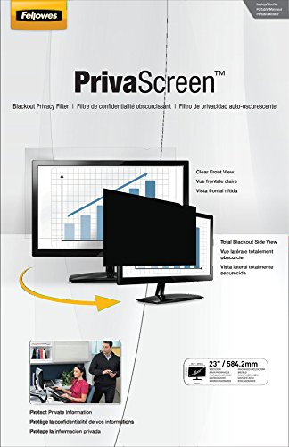 Fellowes PrivaScreen Privacy Filter for 23.0