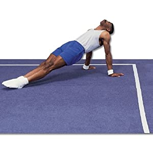 Buy Gymnastics Mat - GSC Smooth-Touch 7 Rolls, 42-Footx42-Foot by Athletic Connection