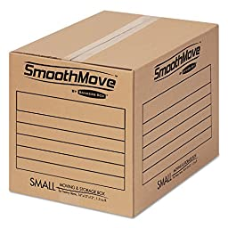 Bankers Box - SmoothMove Basic Moving Boxes, 12 1/4 x 16 1/2 x 12 5/8