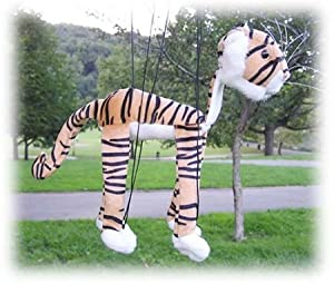 """Tiger 16"""" Marionette by Sunny Puppets"""