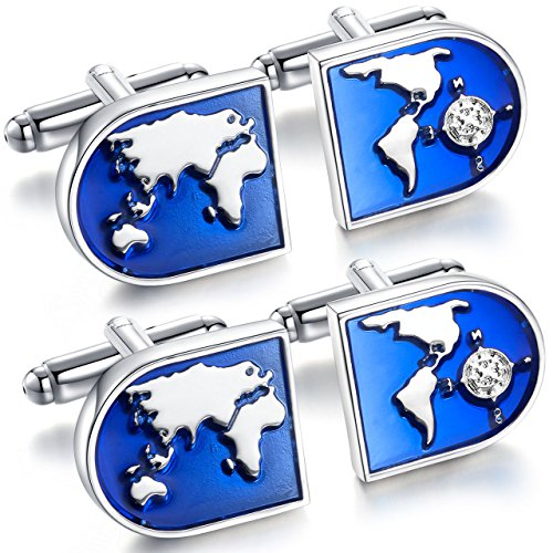 areke-jewelry-world-map-shirts-cufflinks-for-men-wedding-business-tuxedo-cuff-links-blue-silver-styl