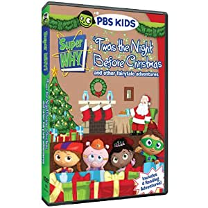 Super Why: Twas the Night Before Christmas [DVD] [Region 1] [US Import] [NTSC]