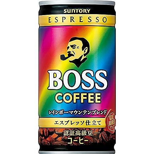 [일본 산토리 보스 캔커피 / SUNTORY BOSS COFFEE] 산토리 커피 보스 레인보우 마운틴 블렌드 185g×30개