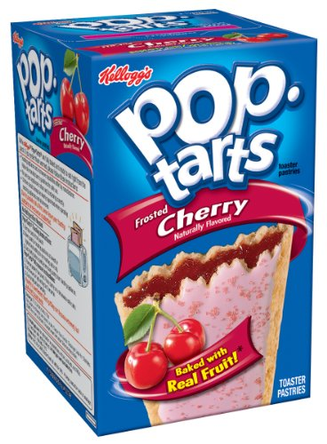 Pop-Tarts, Frosted Cherry, 8-Count Tarts (Pack of 12)