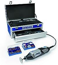 Dremel Kabelgebundenes Multifunktionswerkzeug Platin-Edition (175 Watt), 4000-6/128, 6 Vorsatzgeräte, 128 Zubehöre