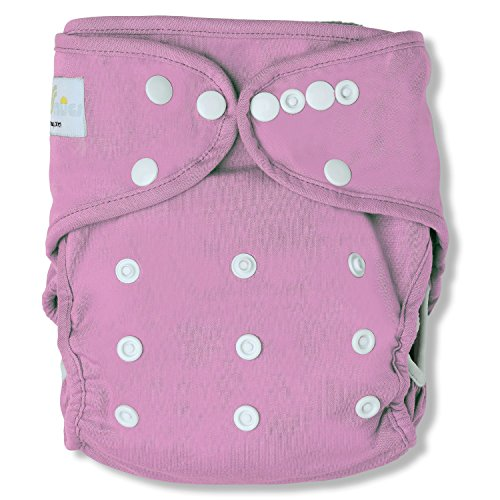 SimpleSnug All-in-two Cloth Diaper Cover (Pink)