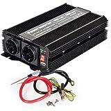 TecTake® Spannungswandler Wechselrichter Inverter 12 V auf 230 V 1500W 3000W