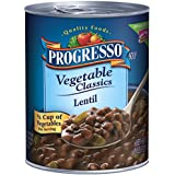 Progresso Vegetable Classics Soup, Lentil, 19-Ounce Cans (Pack of 6)