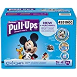 Pull-Ups Training Pants with Cool and Learn for Boys, 3T-4T, 66 Count