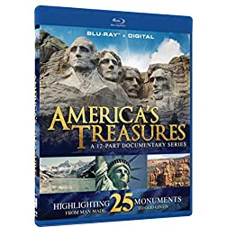 America's Treasures - 12 Part National Monument Documentary + Digital - Blu-ray [Blu-ray]