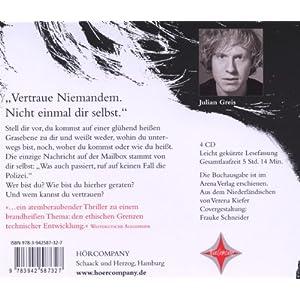 Boy 7. Vertraue niemandem. Nicht einmal Dir selbst.: Gelesen von Julian Greis. 4 CDs. Laufzeit ca. 4