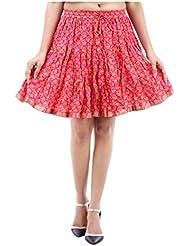 Sunshine Enterprises Women's Cotton Wrap Skirt (Yellow) - B01HELPT80