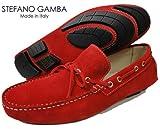 STEFANO GAMBA ステファノガンバ ドライビングシューズ 5011 RED