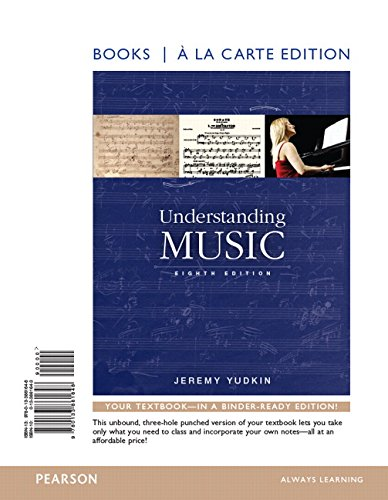 Understanding Music , Books a la Carte Edition Plus REVEL -- Access Card Package (8th Edition)
