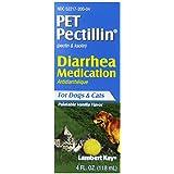 Lambert Kay Pet Pectillin Diarrhea Medication for Dogs and Cats, 4-Ounce