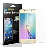 Galaxy S6 Screen Protector, JETech 3-Pack Screen Protector film HD Clear Retail Packaging for Samsung Galaxy S6