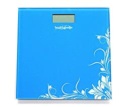 Healthgenie Digital Weighing Scale HD-221, Blue