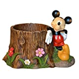 Woods International 4032 Mickey Mouse Stump Planter 8875 Inch by 8625 Inch by 125 