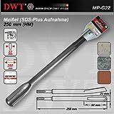 DWT SDS Plus Meißel / Hohlmeissel / Kanalmeißel 250 mm -...