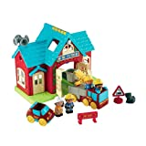 Early Learning Centre HappyLand Fire Station Playset