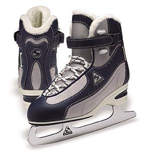 Jackson Softec Vantage Ice Skates - ST3000 Navy Ladies Figure Ice Skates by Jackson