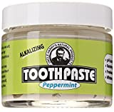 Uncle Harry's Fluoride Free Toothpaste - Peppermint (3 oz glass jar)