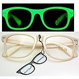 Nerd Clear® Brille LEUCHTET B4-3