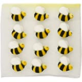Lucks Sugar Decorations, Bumble Bee, 24 Count