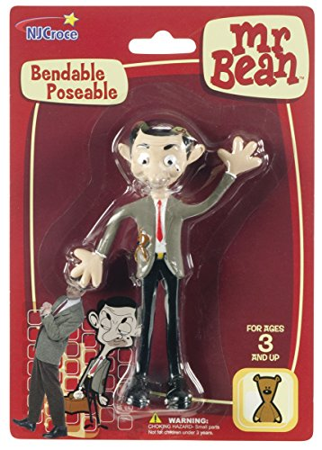 NJ Croce Mr. Bean Bendable Figure - 1