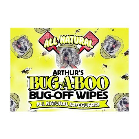 Arthur's Bug-a-Boo Bug-Off 25 CT Wipes