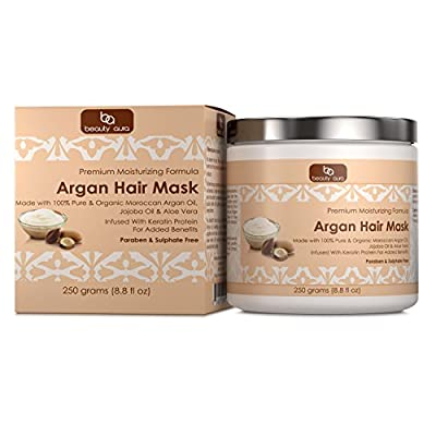 Beauty Aura Argan Hair Mask 250 grams (8,8 fl oz)