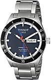 Tissot Men's T0444302104100 PRS 516 Blue Day Date Dial Watch