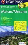 Meran / Merano 1 : 25 000 (KOMPASS-Wanderkarten)