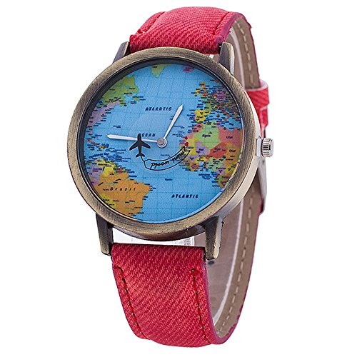 bluelansr-new-style-quart-watch-with-world-map-dial-unisex-watches-wristwatch-7-colors-red