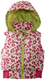 Pink Platinum Little Girls  Cheetah Printed Vest