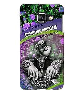 PRINTSHOPPII CARTOON Back Case Cover for Samsung Galaxy A3 (2016) Duos