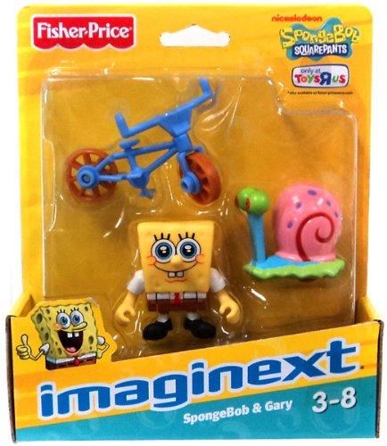 Imaginext, SpongeBob Squarepants Exclusive Figures, SpongeBob & Gary - 1