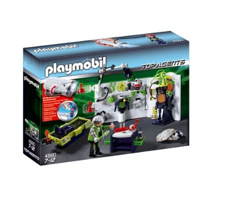 Playmobil 4880 Agents - Robo-Gangster Laboratory (Playmobil Robot compare prices)