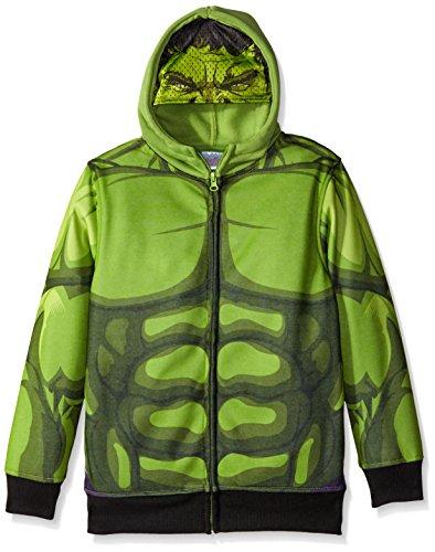 Marvel Boys' Hulk Costume Hoodie